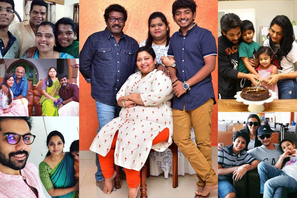 South Indian Stars Family Photos