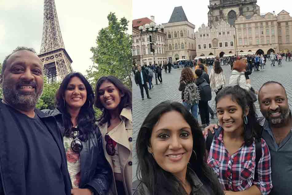 Actress Devadarshini Family Vacation Photos