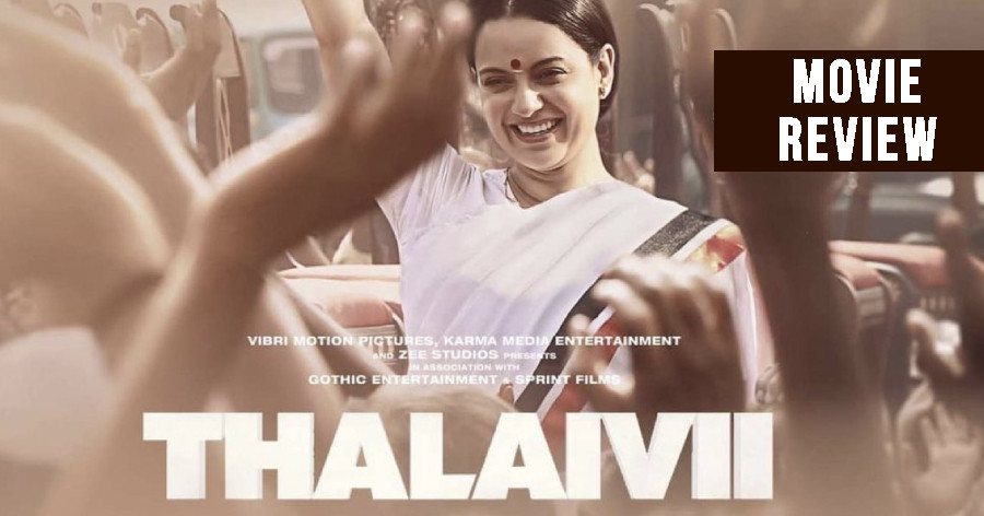 Thalaivii Movie Review in English