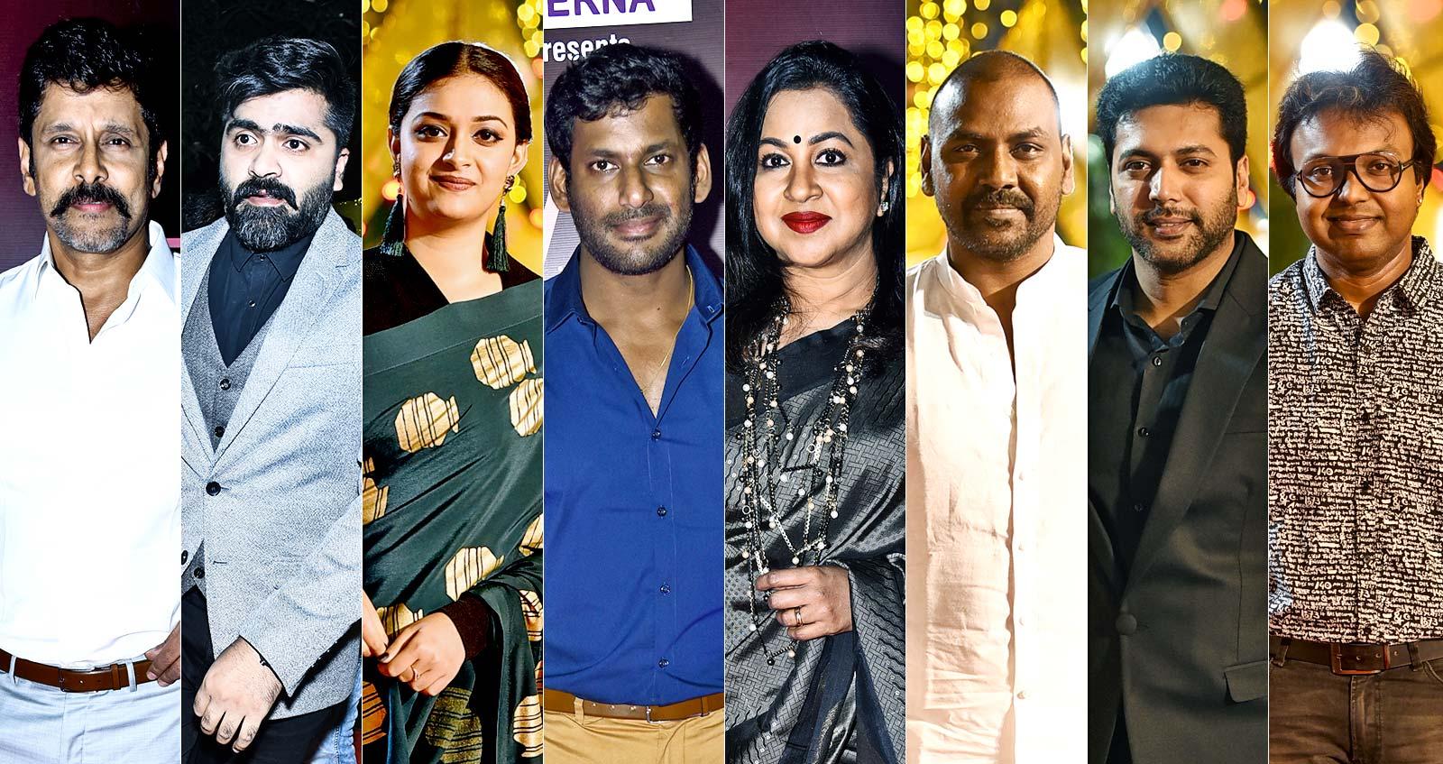 Galatta Nakshathra Awards Red carpet Photos